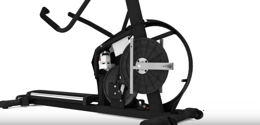 Replacing the resistance motor on an elliptical machine