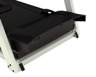 Removing the motor hood on a NordicTrack Treadmill