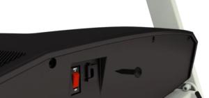 Remove the motor hood